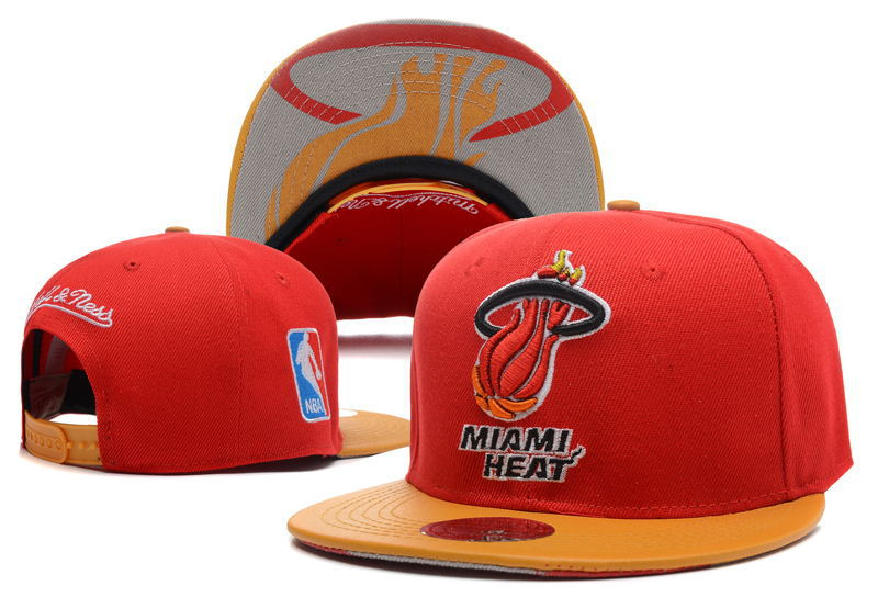 Miami Heat Snapback Hat DF3 0512
